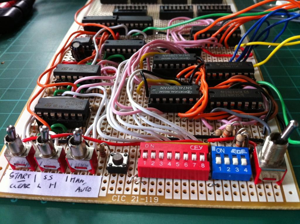 CMOS Logic Computer
