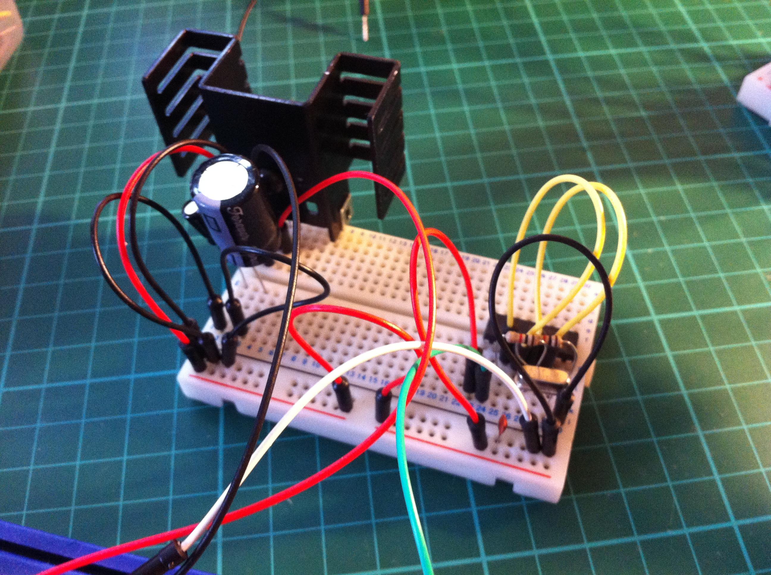 Prototype Power Supply and Clock