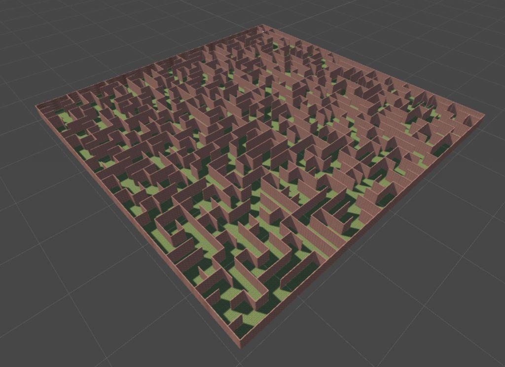 3D Maze, made using Unity.