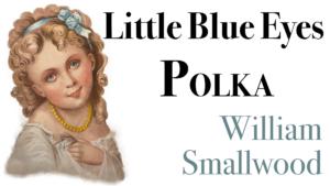 Little Blue Eyes Polka
